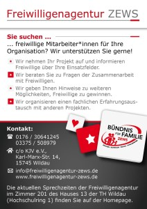 Flyer für Organisationen