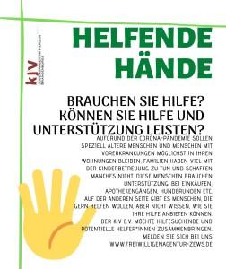 Helfende Hände ohne abriss
